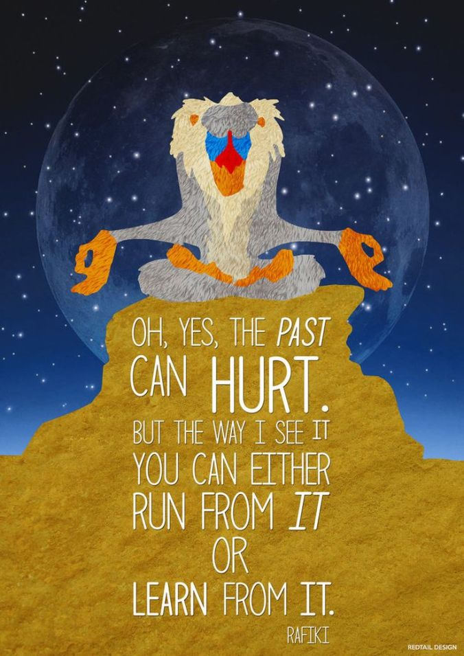 the-past-can-hurt-rafiki-lion-king-daily-quotes-sayings-pictures